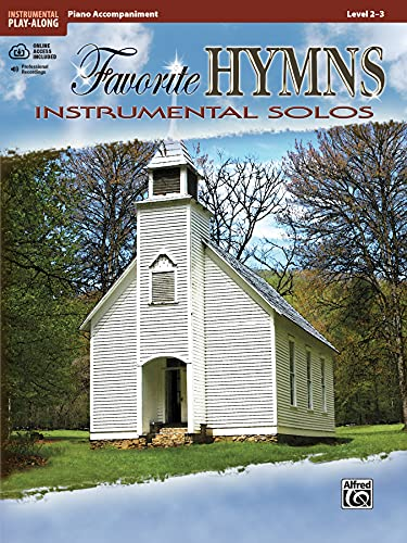 9780739071823: Favorite Hymns Instrumental Solos: Piano Acc., Book & CD (Instrumental Solo Series)