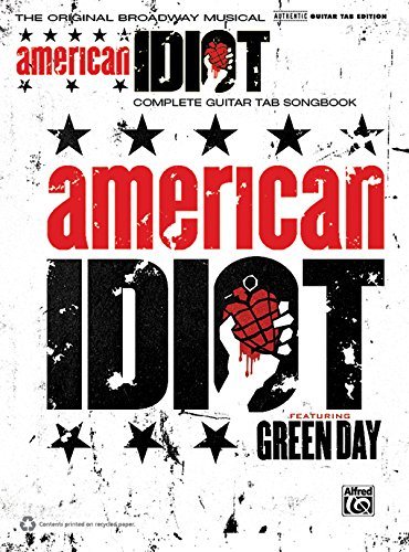9780739072028: Green Day American Idiot the Musical Guitar Tab Book