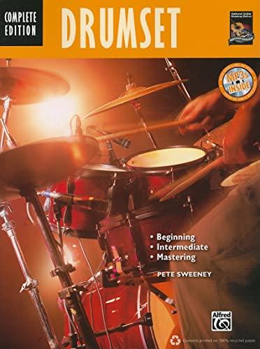 9780739072165: Drumset: Beginning, Intermediate, Mastering (Book & CD) (Complete Method)
