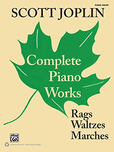 9780739073100: Scott Joplin Complete Piano Works: Rags, Waltzes, Marches: Piano Solos