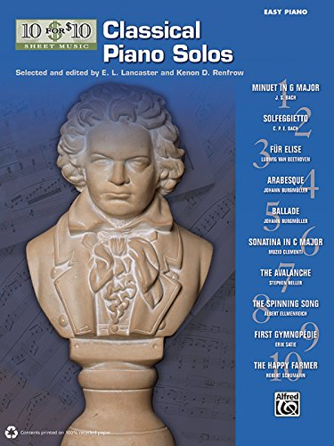 10 for 10 Sheet Music Classical Piano