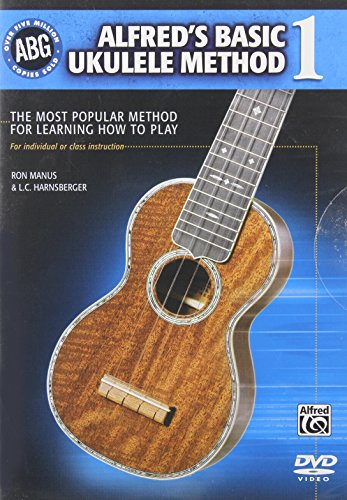 9780739073513: Alfred's Basic Ukulele Method 1: The Most Popular Method for Learning How to Play