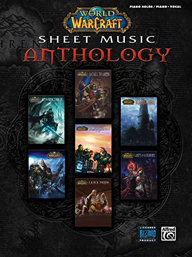 9780739073612: World of Warcraft Sheet Music Anthology Piano Solos & Vocal