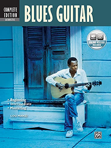 9780739074008: Complete Acoustic Blues Guitar Method Complete Edition: Book & MP3 CD (Complete Method)
