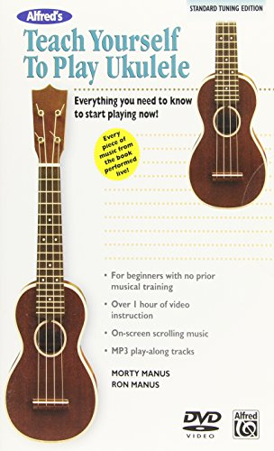 9780739074015: Alfred's Teach Yourself to Play Ukulele, C-tuning: Everything You Need to Know to Start Playing Now!