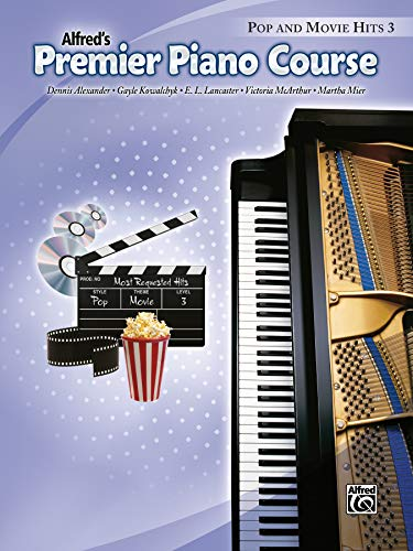 9780739074053: Premier Piano Course Pop and Movie Hits, Bk 3