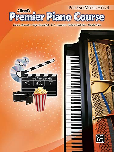 9780739074060: Premier Piano Course Pop and Movie Hits, Bk 4