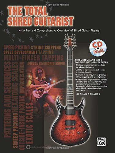 9780739074787: The Total Shred Guitarist: A Fun and Comprehensive Overview of Shred Guitar Playing, Book & CD (The Total Series)