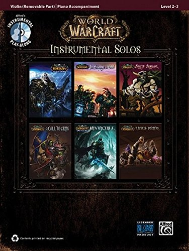 9780739074879: World of Warcraft Instrumental Solos for Strings: Violin, Book & CD (Pop Instrumental Solo Series)