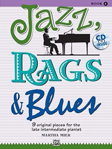 9780739075319: JAZZ RAGS & BLUES BK 4 GRADE 4 BK & CD