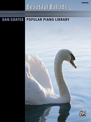 9780739075500: Dan Coates Popular Piano Library -- Beautiful Ballads