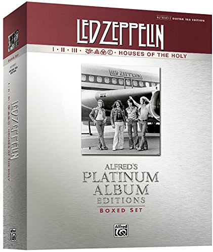 9780739075555: Led Zeppelin Authentic Guitar Tab Edition Boxed Set: Alfred's Platinum Album Editions (Alfred's Platinum Albums)