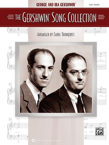 9780739075845: The Gershwin Song Collection Easy Piano Book
