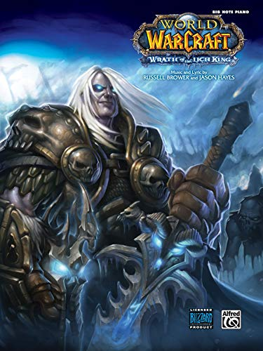 9780739076460: Wrath of the Lich King: from World of Warcraft (Big Note Piano), Sheet