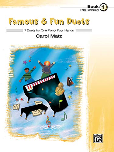 9780739076491: Famous & Fun Duets: 7 Duets for One Piano, Four Hands