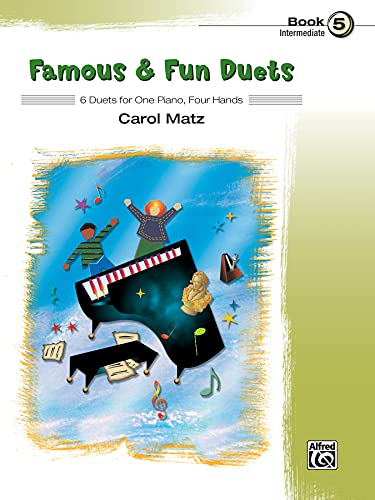 9780739076538: Famous & Fun Duets, Bk 5: 6 Duets for One Piano, Four Hands