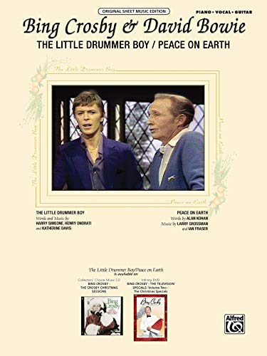 9780739076804: Bing Crosby & David Bowie: The Little Drummer Boy/Peace on Earth (Original Sheet Music Editions)