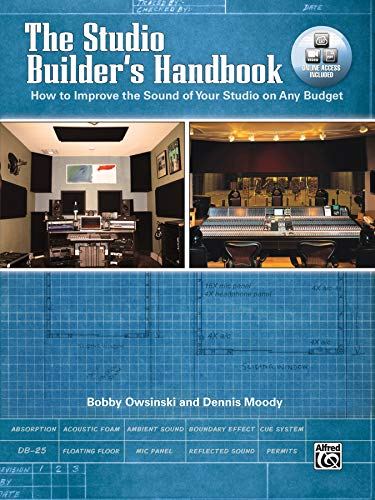 9780739077030: The Studio Builder's Handbook: How to Improve the Sound of Your Studio on Any Budget, Book & DVD