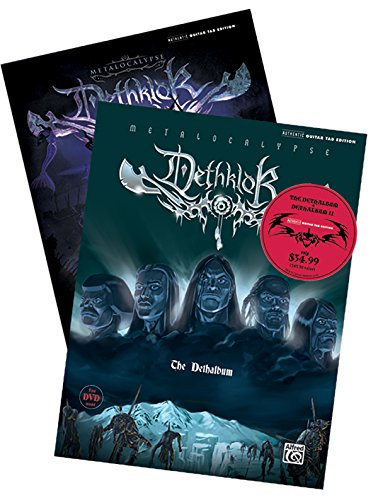9780739077078: Dethklok -- Dethalbums I & II Guitar TAB Bundle: Authentic Guitar TAB (2 Books & DVD) (Authentic Guitar Tab Editions)