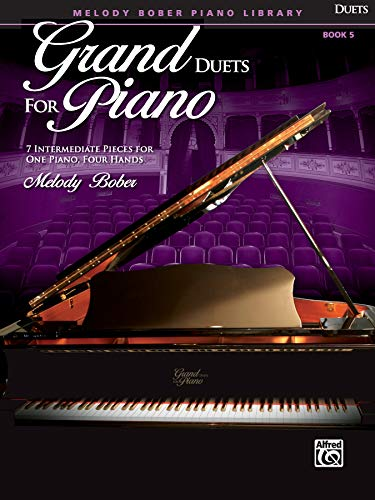 9780739077320: Grand Duets for Piano, Bk 5: 7 Intermediate Pieces for One Piano, Four Hands