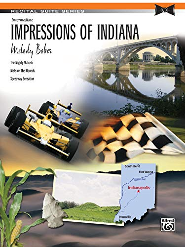 Impressions of Indiana: Sheet (Recital Suite Series): Alfred Music