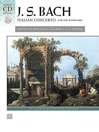 9780739077559: Bach -- Italian Concerto: Book & CD (Alfred Masterwork CD Edition)