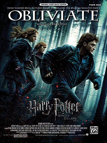 9780739077825: Obliviate (from Harry Potter and the Deathly Hallows, Part 1): Piano Solo, Sheet (Original Sheet Music Edition)