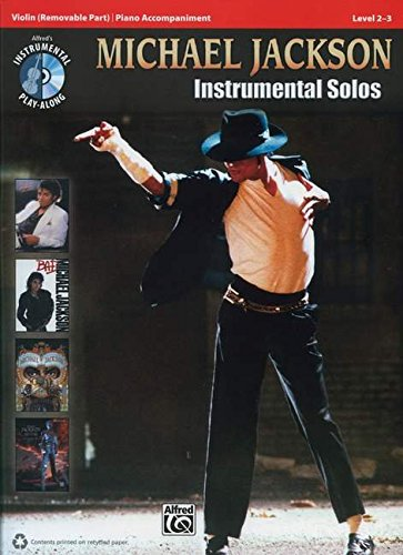 9780739078037: Michael Jackson Instrumental Solos for Strings: Violin, Book & CD