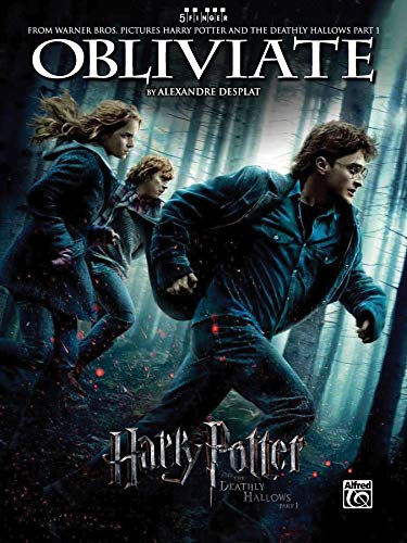 9780739078099: Obliviate (from Harry Potter and the Deathly Hallows, Part 1): Five Finger Piano, Sheet