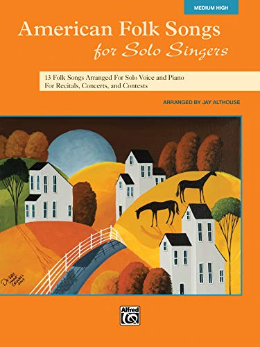 9780739078129: American Folk Songs for Solo Singers: Medium High Voice