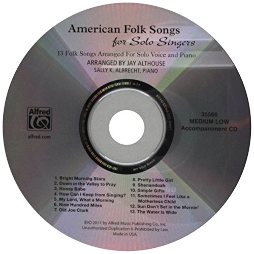 American Folk Songs for Solo Singers: Arr. Jay Althouse