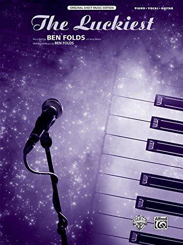 9780739078365: The Luckiest: Piano/Vocal/Guitar, Sheet (Original Sheet Music Edition)