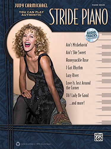 9780739078600: Judy Carmichael -- You Can Play Authentic Stride Piano: Book & CD