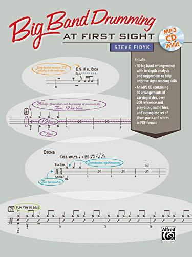 9780739078822: Big Band Drumming at First Sight: Book & CD