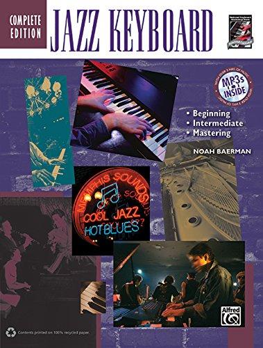 Jazz Keyboard Method Complete (Book & CD): Baerman, Noah