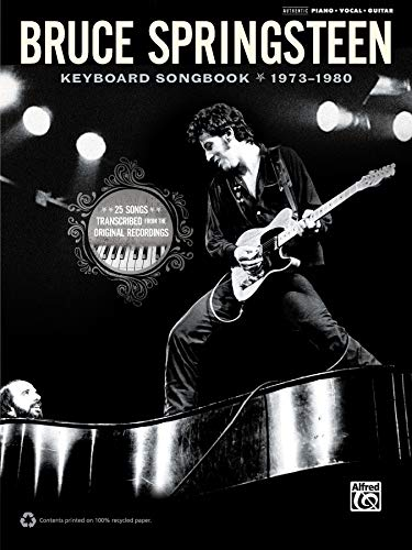 9780739079850: Bruce Springsteen Keyboard Book 73-80 --- PVG - Springsteen, Bruce --- Alfred Publishing