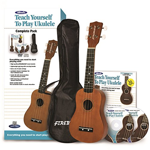 9780739079898: Alfred's Teach Yourself to Play Ukulele, Complete Pack: Everything You Need to Start Playing Now!, Starter Pack (Teach Yourself Series)