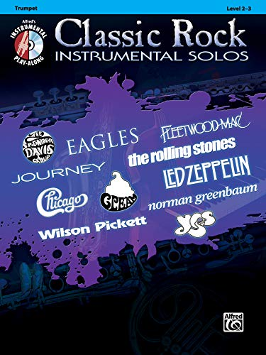 9780739079959: Classic Rock Instrumental Solos: Trumpet, Book & CD (Pop Instrumental Solo Series)
