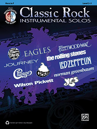 Classic Rock Hits Instrumental Solos: Horn in: Alfred Publishing