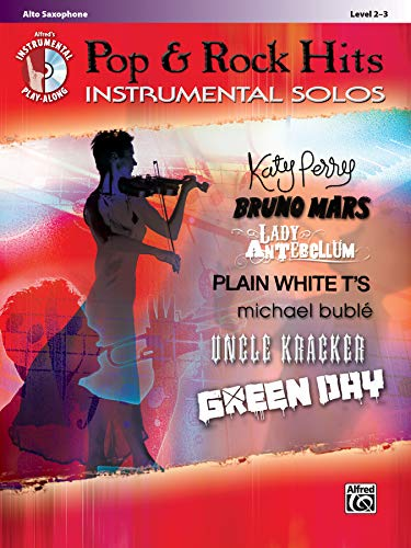 9780739080047: Pop & Rock Hits Instrumental Solos: Alto Sax, Book & CD (Pop Instrumental Solo Series)