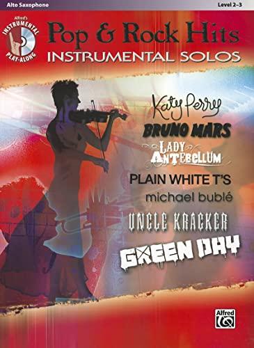 9780739080047: Today's Pop & Rock Hits Instrumental Solos: Alto Sax