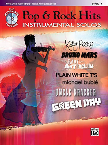 9780739080115: Pop & Rock Hits Instrumental Solos for Strings: Viola, Book & CD (Pop Instrumental Solo Series)
