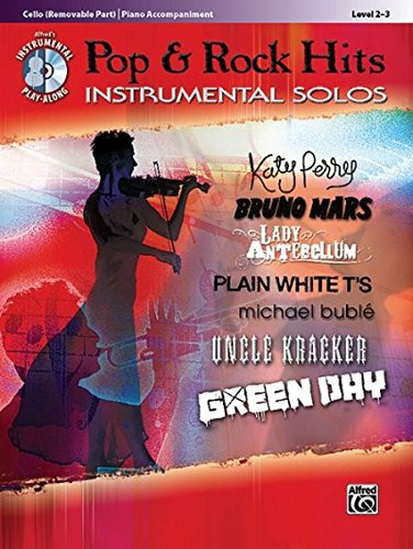 9780739080122: Pop & Rock Hits Instrumental Solos for Strings: Cello, Book & CD (Pop & Rock Instrumental Solo)