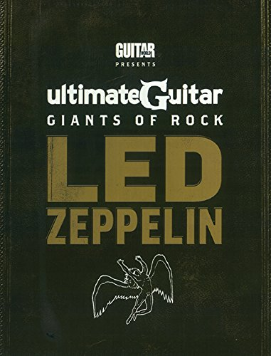 9780739080504: Ultimate Guitar Giants of Rock: Led Zeppelin [With Custom Dunlop Pick Pack and DVD and 4 Paperbacks]