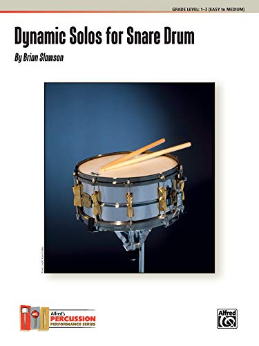 9780739080696: Dynamic Solos for Snare Drum
