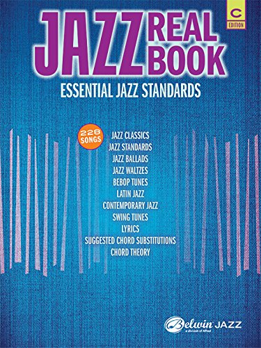 Jazz Real Book: Essential Jazz Standards: 228 Songs, C Edition: Staff, Alfred Publishing