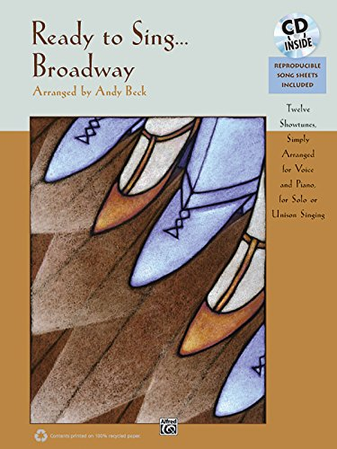 9780739081334: Ready to Sing . . . Broadway: Book & CD