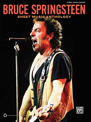 9780739081365: Bruce Springsteen -- Sheet Music Anthology: Piano/Vocal/Guitar