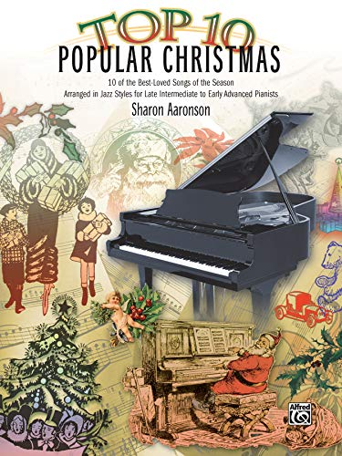 9780739081396: Top 10 Popular Christmas: 10 of the Best-Loved Songs of the Season Arranged in Jazz Styles for Late Intermediate to Early Advanced Pianists (Top 10 Series)