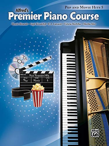 9780739081822: Premier Piano Course Pop and Movie Hits, Bk 5
